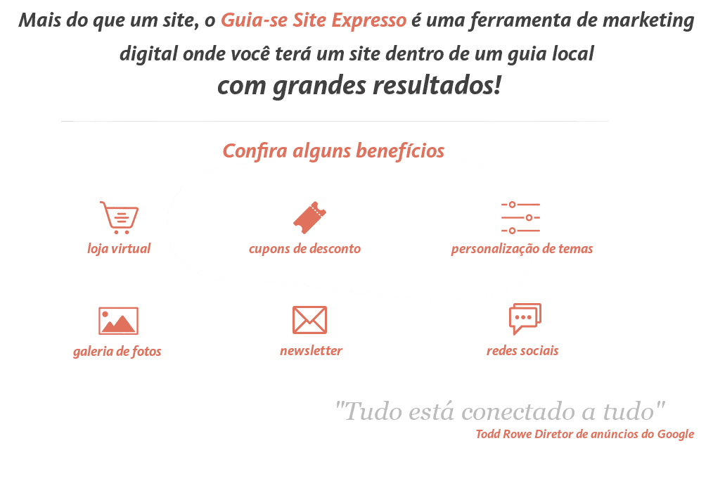Exemplo do Guia-se Site Expresso