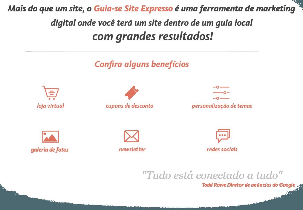 Exemplo do Guia-se Site Expresso