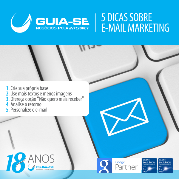 5 dicas sobre e-mail marketing