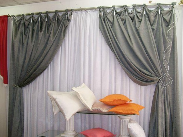 Confec es de cortinas cortinas para salas dil021 for Catalogo de cortinas para sala