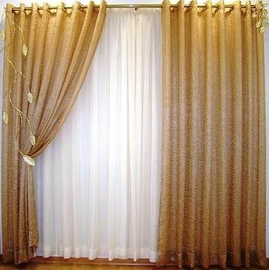 Confec es de cortinas cortinas para salas dil030 for Catalogo de cortinas para sala