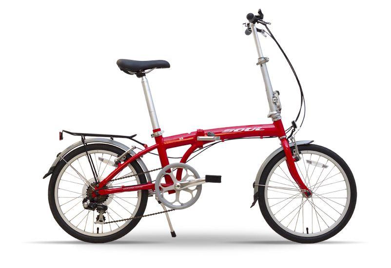 Bicicleta Soul Cycles Dobrável